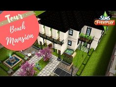 URBAN MANSION - Sims Freeplay House Designs - YouTube
