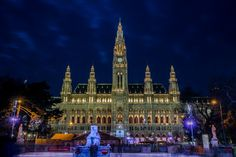 Visit Vienna, Austria – Vacation Tips and Deals Best Christmas Markets Europe, Vienna Christmas, White Christmas, German Christmas, Christmas Holidays, Merry Christmas, Places To Travel, Places To Visit, Visit Austria