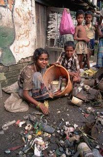 Slums in India. Dark side of India We Are The World, People Of The World, Mundo Cruel, Photos Du, Stock Photos, World Poverty, Slums, Life Is Hard, India Travel