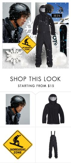 """His Snowboard Zone"" by stylepersonal ❤ liked on Polyvore featuring Quiksilver, Burton, Billabong, Universal Lighting and Decor, men's fashion, menswear, Snowboard and 2018"