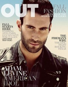 Adam Levine for Out Magazine. #photography