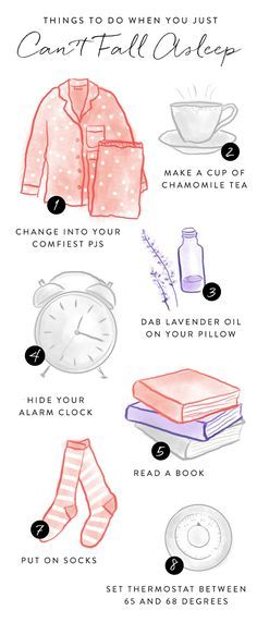 Try these tactics when you cant fall asleep to induce snoozing.