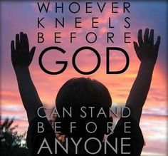 Humble yourselves under the mighty hand of God and in due time He will lift you up! - 1 Peter 5:6