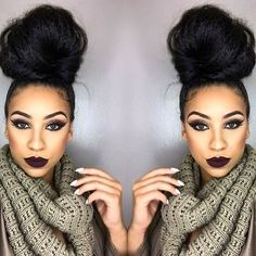 HAIRSPIRATION| When in doubt bun it out Love this simple #topknot on @beautifiya STUNNING #voiceofhair ________________________________________________ Spotted by #VOHambassador @valentina.vx ========================= Go to VoiceOfHair.com ========================= Find hairstyles and hair tips! =========================