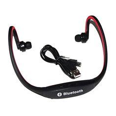 Bluetooth-hodetelefoner øreplugger / headset / øretelefon, kjører / fitness sweatproof / iphone 6splus / android smartphones - NOK kr. 158