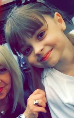 Eight-year-old Saffie Rose Roussos - youngest victim in Manchester, England bombing. R.I.P. little one!