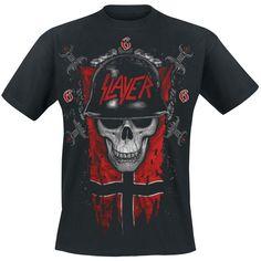 Banner Skull (T-Shirt) by Slayer