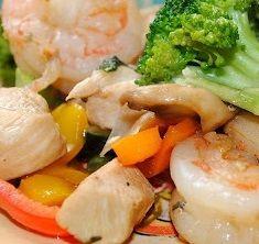 Chicken and Shrimp Stir-Fry Recipe