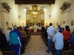 Una volta l apos anno apre la chiesta Santa Maria della Valle di Ocricchio di Norcia PG