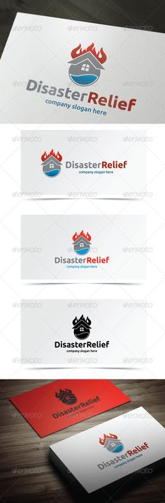 Distater Relief - Logo Design Template Vector #logotype Download it here: http://graphicriver.net/item/distater-relief/5638909?s_rank=1064?ref=nesto