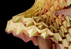 Folded garment by Royal College of Art student Jule Waibel