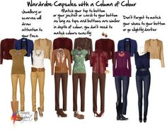 Hi Imogen, Could you give some examples of monochromatic dressing. I've only ever done it in black and I'm changing colours. Also, I never...