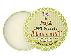 Figs & Rouge Organic Aloe & Mint Balm | Spirit Beauty Lounge
