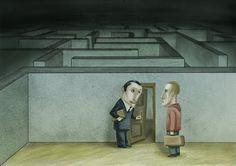Bitacora de cómic e ilustración  Javier Monsalvett: USTED PRIMERO...