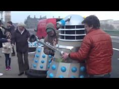 Dalek Invasion! Mark Gatiss Reports from London - An Adventure in Space and Time - Doctor Who