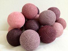 Lichterkette #Brombeere Baumwoll kugel lichter kugeln von Kugel Licht  cottonball