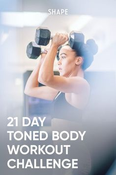 This 21-day plan is designed for all fitness levels, so just choose the exercise and cardio variations that are right for you. Trying to make exercise a lifelong habit? Use these three weeks as a jumping-off point. #21daychallenge #workoutplan 21 Day Fitness Challenge, Workout Challenge, Arm Challenge, Workout Plans, Sledgehammer Workout, Aerobics Workout, Aerobic Exercises, Weight Set, Weight Loss