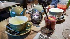 Puro - Sonntags-Brunch à la Carte im Club-Style Bloody Mary, Club Style, Tea Cups, Paradise, Breakfast, Tableware, Cards, Brunch Ideas, Morning Coffee