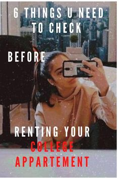 If you are going to be a college student very soon you are probably looking for an appartement! This was my fav part when I was starting my college so I ve decided to make a blog post about it! I ve collected 6 important things you need to check before u rent it. This is a must read trust me! #college #appartement #uni #collegelife #collegetips College Hacks, College Life, Medical Students, College Students, Just Love, Uni, Trust, Posts, Reading