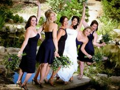 Bridesmaids and bride! Click here to find out more about Ambrosia Services!