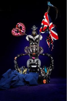 Lanvin. In honor of the upcoming Queen's Jubilee, the famous London department store Harrod's asked top fashion labels to envision an updated version of the Queen's royal crown.