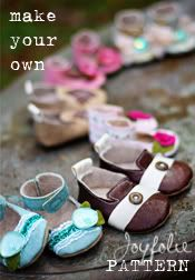 Pattern to make my own sweet shoes for a toddler. Love these.