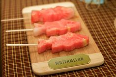 watermelon fishies!!  i could do this with my airplane cookie cutter fun!!
