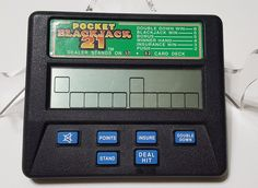 Radica 1350 Pocket Black Jack 21 #Radica