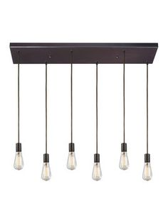 Menlow Park 6-Light Pendant from Rustic Furniture & Accents Feat. Kosas Home on Gilt