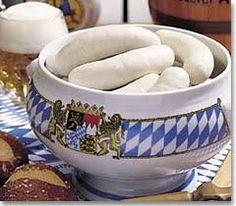 BAVARIAN WEISSWURSCHT, should be fresh, tastes good with sweet Bavarian…