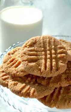 Gluten Free Peanut Butter Cookies | Gluten Free Recipes | Gluten Free Recipe Box