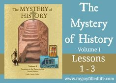 The Mystery of History Volume 1 Lessons 1-3 - Activities and Resources