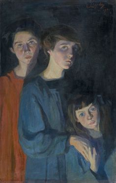 The Three Sisters by Elisabeth Chaplin on Curiator, the world's biggest collaborative art collection. Sisters Art, Three Sisters, Digital Museum, Collaborative Art, Impressionist, Female Art, Les Oeuvres, Art History, Modern Art