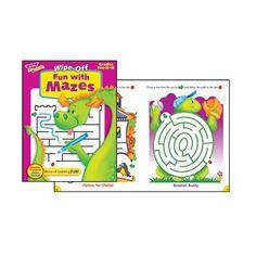 Trend Enterprises Inc. Fun With Mazes Wipe Off Book Trend Enterprises http://www.amazon.com/dp/B0032EETK8/ref=cm_sw_r_pi_dp_A0Rvub1DDE83F
