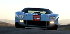1968 Ford GT40 Gulf-Mirage Lightweight Racing Car