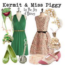 Kermit & Miss Piggy - Polyvore