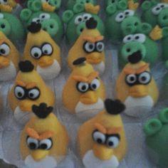 Ateliê Arte e Sabor: angry birds