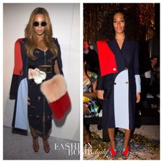 Who Wore it Better? Solange Knowles vs. Beyonce in Harbison's Spring 2015 Red and Blue Colorblock Coat The post Who Wore it Better? Solange Knowles vs. Beyonce in Harbison's Spring 2015 Red and Blue Colorblock Coat appeared first on The Fashion Bomb Blog : Celebrity Fashion, Fashion News, What To Wear, Runway Show Reviews. Solange continues to slaughter Paris Fashion Week, and appeared at... http://makemyfriday.com/2015/03/09/who-wore-it-better-solange-knowles-vs-be