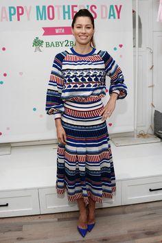 Jessica Biel  Design: Chanel