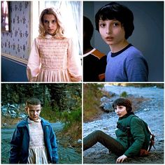 #get you a girl who can do both #stranger things #mike be like daamn