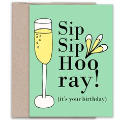 This cheerful birthday greeting card if for that special someone who knows how to celebrate the big day. ❉ Collection - Postal Notes Greetings ❉ Size - x Birthday Puns, 21st Birthday Quotes, 21st Birthday Cards, Birthday Cheers, Birthday Images, Birthday Greeting Cards, Birthday Greetings, It's Your Birthday, Funny Birthday Sayings