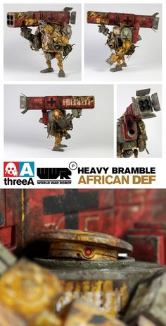 3A: Heavy Bramble African Defense