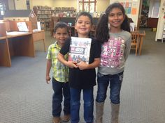 Congrats to Diego (pictured here w/ his siblings Manuel & Sophia) for winning the Star Wars book raffle at Star Wars Reads Day!