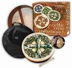 Celtic Cross Bodhran Gift Pack