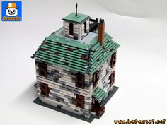 https://flic.kr/p/27p4SmR | HAUNTED HOUSE 02 | A back view of my commissioned model of the Haunted House. Based on the Alexander scale model. More photos in my Flickr Architecture album. www.flickr.com/photos/8107354@N03/albums/72157631405793006  www.baronsat.net