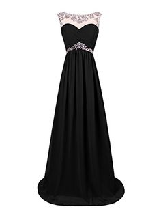 Dresstells Ruffles Off The Shoulder Evening Party Formal Prom Dress Pearls Empire Long Chiffon Dress: Amazon.co.uk: Clothing