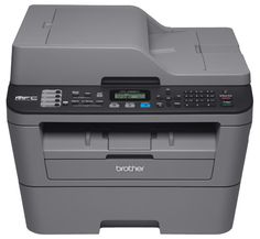 Brother Compact Monochrome All In One Laser Printer Mfc L2685dw Wireless Printing Duplex Two Sided Printing Grey Brother Printers Multifunction Printer Laser Printer
