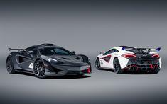 McLaren MSO X, 2018, 570S GT4, supercars, racing bilar, tuning, McLaren