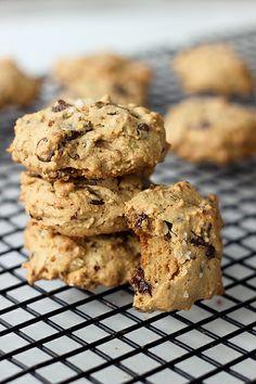 Grain-free Pistachio Chocolate Chip Cookies with Sea Salt - Gluten-free + Dairy-free (Vegan option) by Tasty Yummies, via Flickr