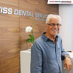 Todos los días tenemos varios pacientes que han conseguido un cambio importante: ¡masticar, hablar y sonreír sin limitaciones! www.swissdentalservices.com/es